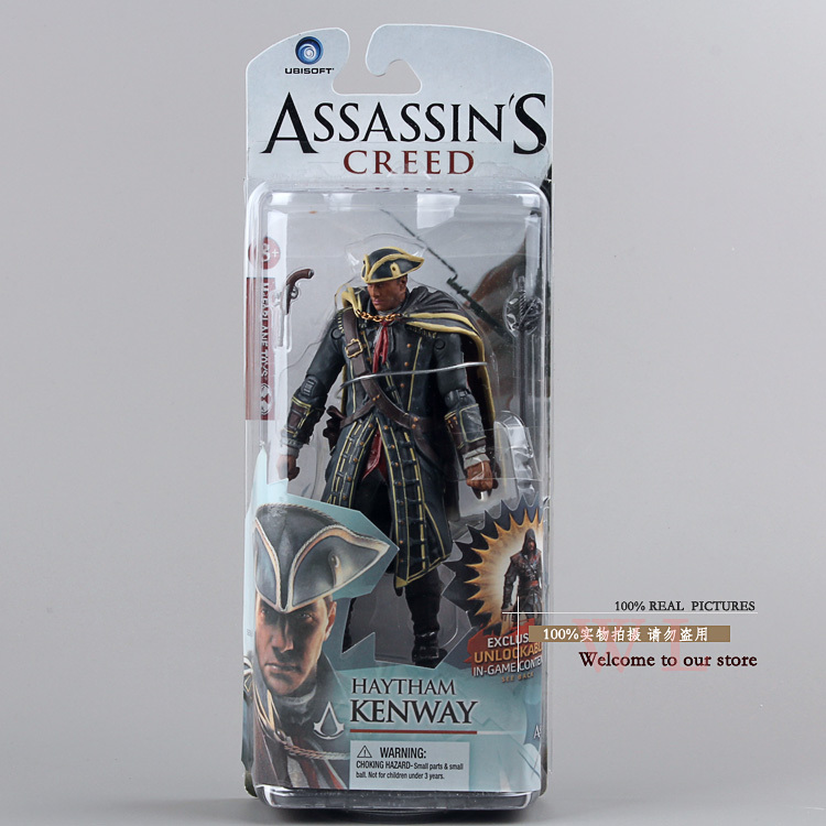 NECA Assassins Creed 4 Black Flag Heysem Kenway PVC Action Figure Oyuncak 6 14 cm