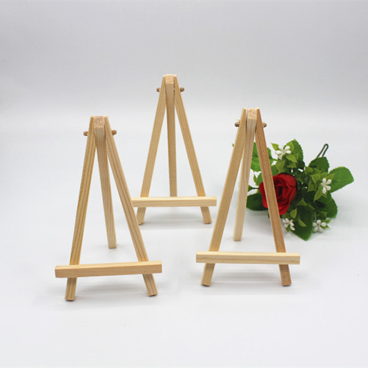 Free Shipping 15 X ZAKKA Mini Display Miniature Easel Wedding Table Number Place Name/Photo Card Stand 16*9cm