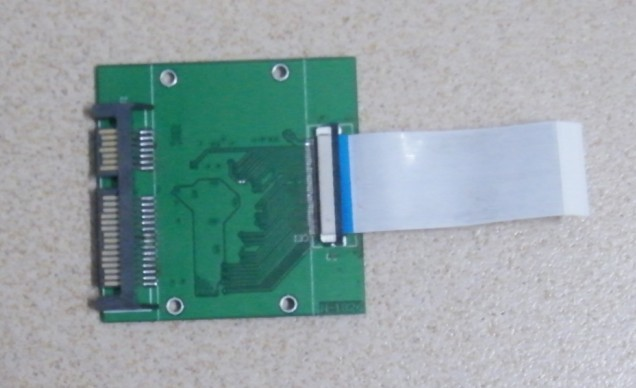 1.8 Inch CE/ZIF interface to SATA transfer card